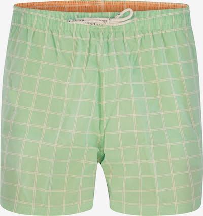 bugatti Shorts de bain 'Marte' en vert clair, Vue avec produit