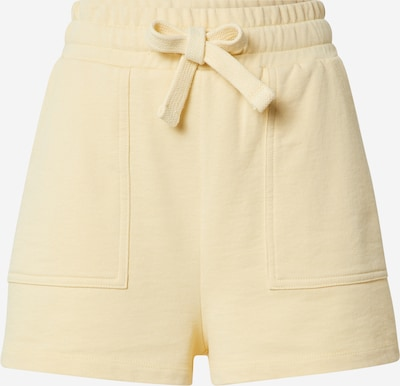 A LOT LESS Shorts 'Liv' - (GOTS) in gelb, Produktansicht