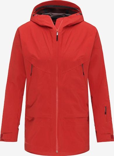 PYUA Outdoorjas 'Vertical' in de kleur Rood, Productweergave