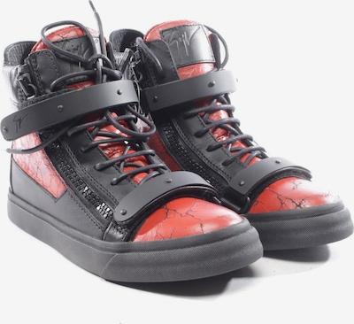 Giuseppe Zanotti High-Top Sneaker in 38 in rot / schwarz, Produktansicht