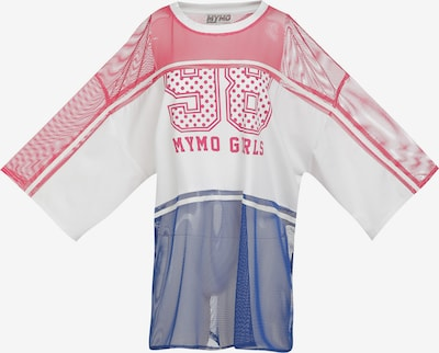 myMo ATHLSR Funktionstopp i blå / rosa / pitaya / naturvit, Produktvy