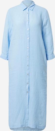 120% Lino Robe-chemise en bleu clair, Vue avec produit