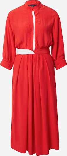 FRENCH CONNECTION Kleid 'AIDEN' in rot / weiß, Produktansicht