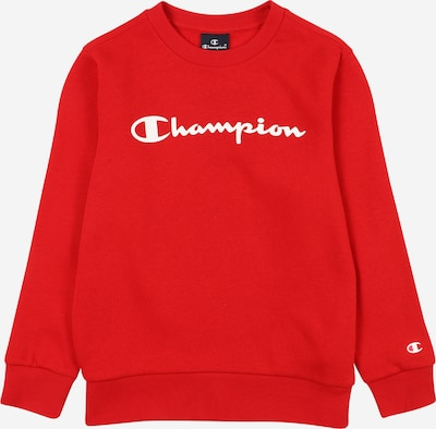 Champion Authentic Athletic Apparel Sweatshirt in Red / White, Item view