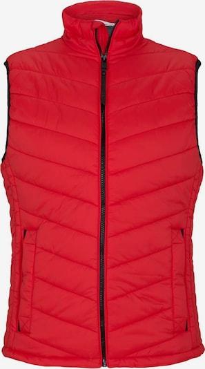 TOM TAILOR Bodywarmer in de kleur Rood, Productweergave