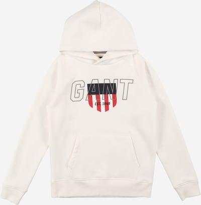 GANT Sweatshirt in navy / rot / eierschale, Produktansicht