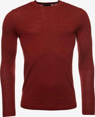 Superdry Pullover 'Edit Merino' in bordeaux, Produktansicht