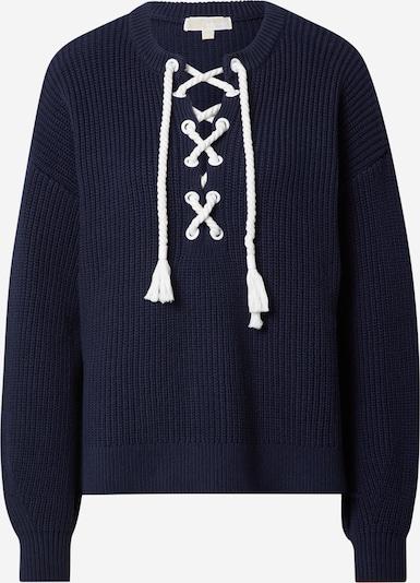 MICHAEL Michael Kors Sweter w kolorze ciemny niebieski / białym, Podgląd produktu
