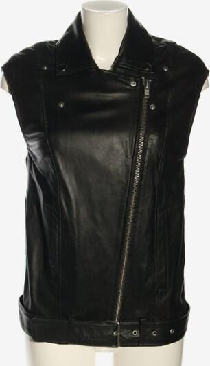 H&M Lederweste in XS in schwarz, Produktansicht
