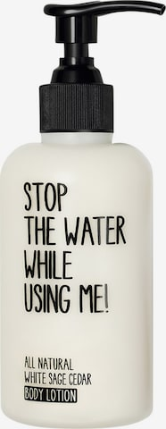 STOP THE WATER WHILE USING ME! Body Lotion 'White Sage Cedar' in