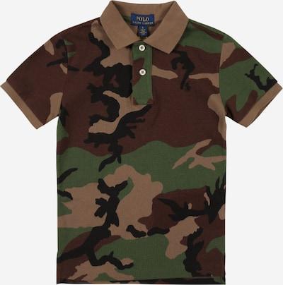 POLO RALPH LAUREN Camiseta en beige claro / ocre / verde claro / negro, Vista del producto