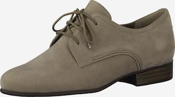 Scarpa stringata di TAMARIS in grigio