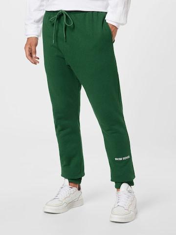 9N1M SENSE Püksid, värv roheline