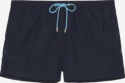 HOM Shorts de bain ' Sea Life ' en bleu marine, Vue avec produit