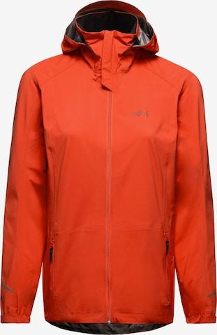 GORE WEAR Athletic Jacket 'R3 Active' in Orange
