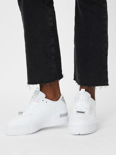 PUMA Sneaker 'Cali' in grau / weiß: Frontalansicht