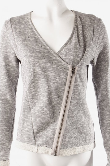 SELECTED Kurz-Blazer in S in grau / weiß, Produktansicht