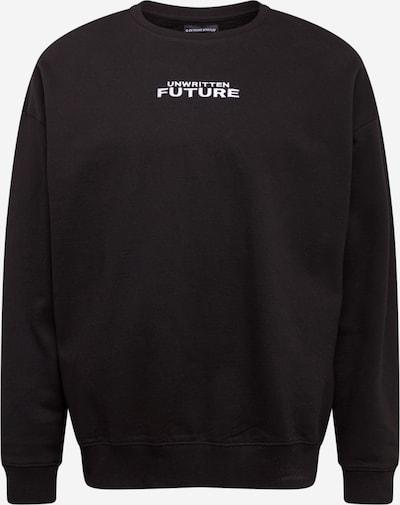 Rethink Status Sweat-shirt en marron / jaune / noir / blanc, Vue avec produit