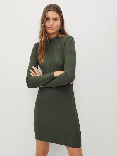MANGO Kleid 'Rosario' in khaki, Modelansicht