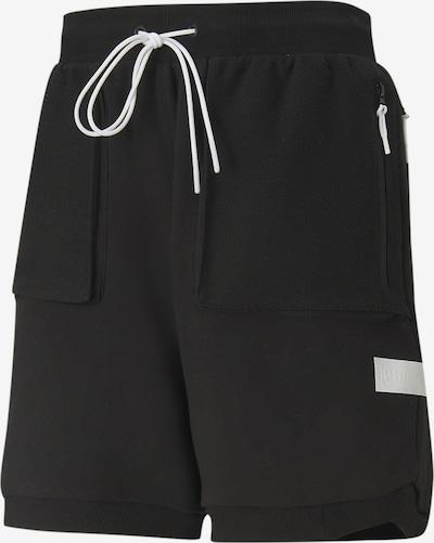 PUMA Sportbroek 'Standby' in de kleur Zwart / Wit, Productweergave