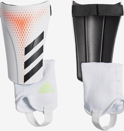 ADIDAS PERFORMANCE Schienbeinschoner in orange / schwarz / weiß, Produktansicht