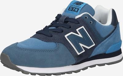 new balance Sneaker in navy / pastellblau / hellblau / weiß, Produktansicht