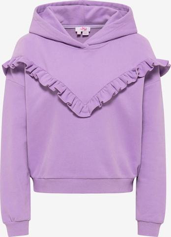 MYMO Sweatshirt in Purple