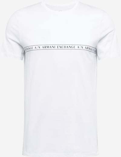 ARMANI EXCHANGE Shirt in de kleur Zwart / Wit, Productweergave