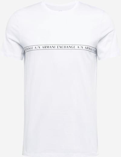 ARMANI EXCHANGE Tričko - černá / bílá, Produkt