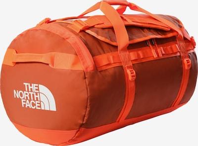 THE NORTH FACE Reisetasche 'Base Camp' in orange / weiß, Produktansicht
