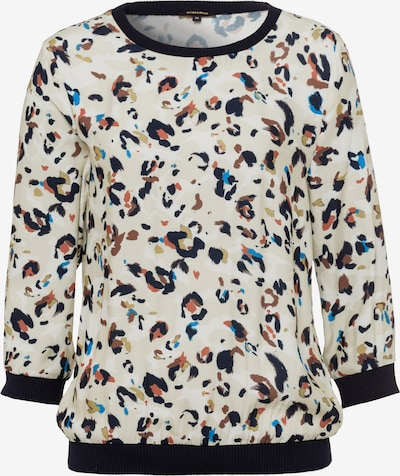MORE & MORE Bluse in beige / blau / braun / oliv / schwarz / weiß, Produktansicht