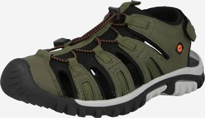 HI-TEC Sandały 'COVE' w kolorze khaki / czarnym, Podgląd produktu