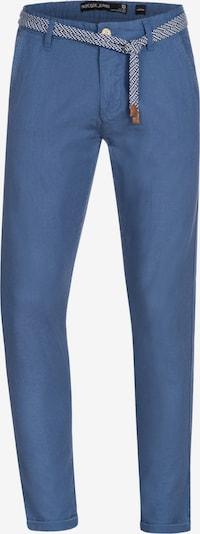 INDICODE JEANS Pantalon chino ' Bryne ' en bleu cobalt: Vue de face