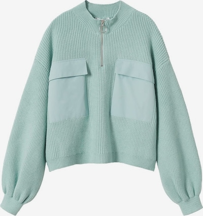 MANGO Sweater in Turquoise, Item view