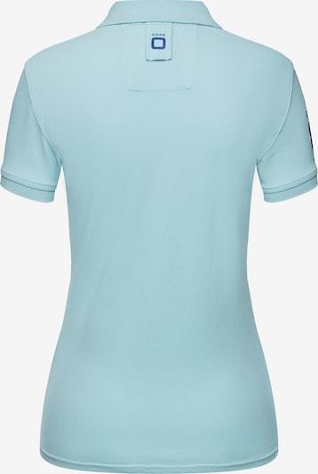 CODE-ZERO Shirt 'St Barth Special Polo' in de kleur Blauw / Lichtblauw, Productweergave