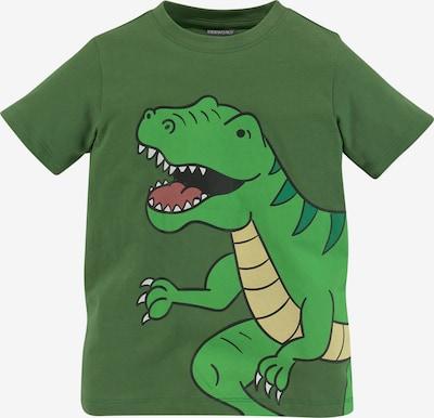 Kidsworld T-Shirt in pastellgelb / grün / limette / pastellrot, Produktansicht
