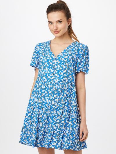 Trendyol Kleid in himmelblau / hellgrün / schwarz / weiß, Modelansicht