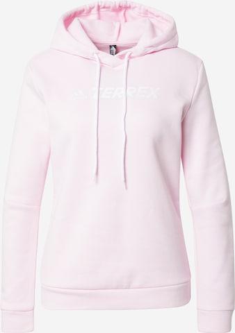 adidas Terrex Sportsweatshirt in Pink
