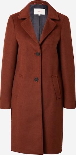 Palton de primăvară-toamnă s.Oliver pe maro ruginiu, Vizualizare produs