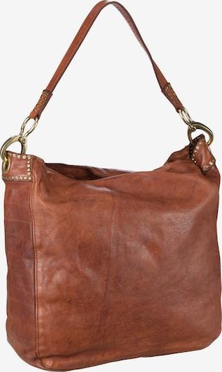 Campomaggi Tasche 'Penelope' in hellbraun / dunkelbraun, Produktansicht