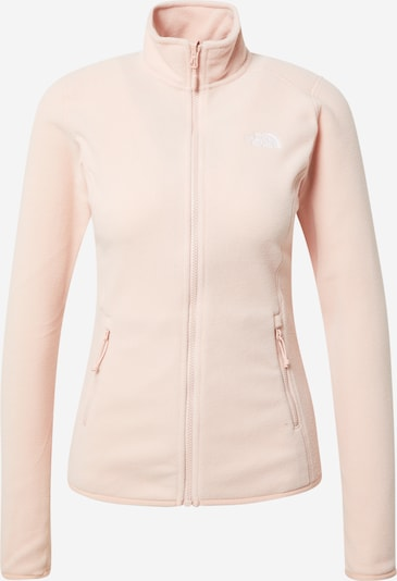 THE NORTH FACE Functional fleece jacket 'Glacier' in Pastel pink / White, Item view
