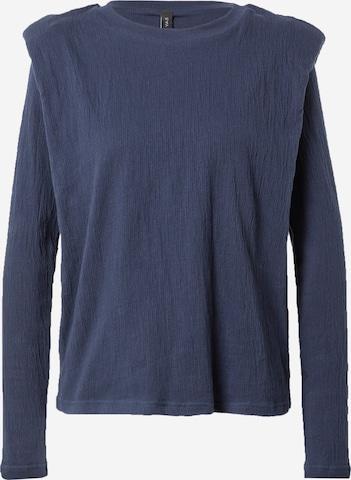 Tricou de la Y.A.S pe albastru