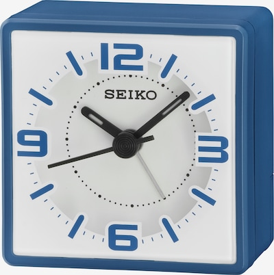 SEIKO Quarzwecker in blau, Produktansicht