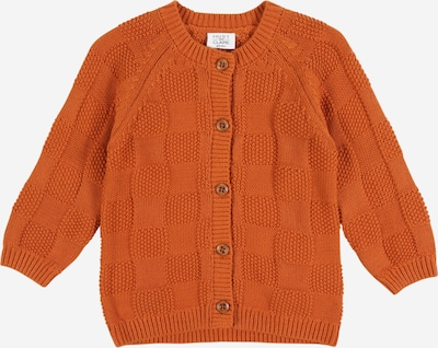 Hust & Claire Strickjacke 'Christoffer' in orange, Produktansicht