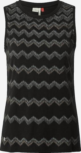 Ragwear Haut 'ZORRA' en noir / blanc, Vue avec produit