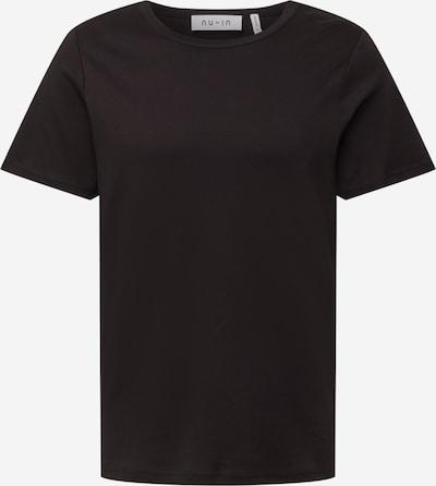 NU-IN T-Shirt in schwarz, Produktansicht