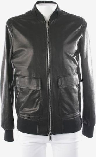 VALENTINO Lederjacke in M in schwarz, Produktansicht