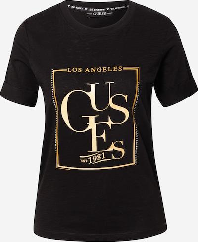 GUESS Tričko 'SIMONNE' - zlatá / černá, Produkt