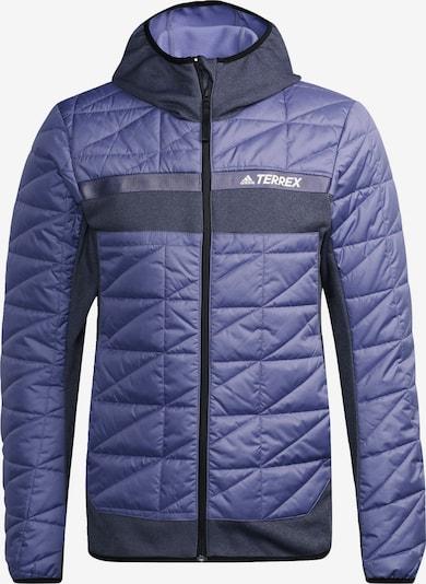 adidas Terrex Jacke in lila / weiß, Produktansicht
