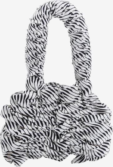 JOANA CHRISTINA Handbag 'Mini Pillow Bag' in Black / White, Item view